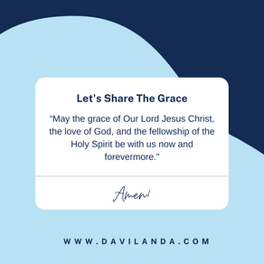 Let's Share The Grace