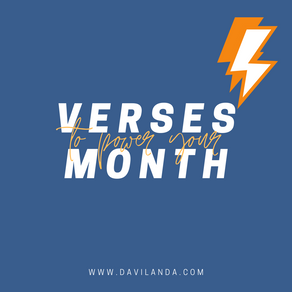 Verses to Power Your Month