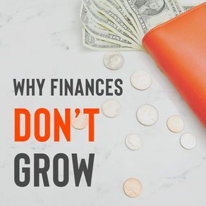 Reasons Why Finances Don't Grow.