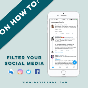On How To: Filter Your Social Media Feed.