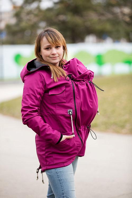 Dámska Softshellová bunda Fuchsia