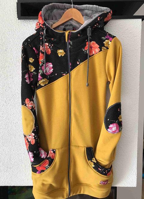 Mikina na nosenie Warmkeeper Žlté/ružové kvety