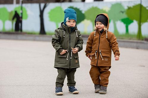 Detské Softshellové súpravy