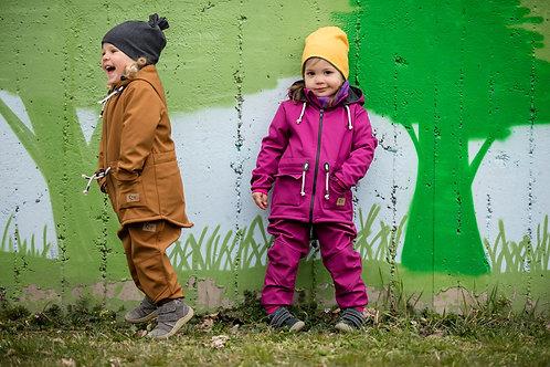Detské Softshellové bundy