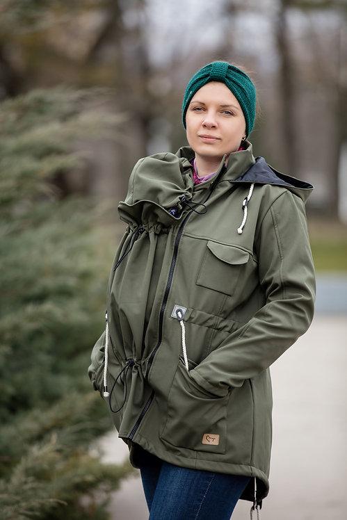 Dámska Softshellová bunda Khaki