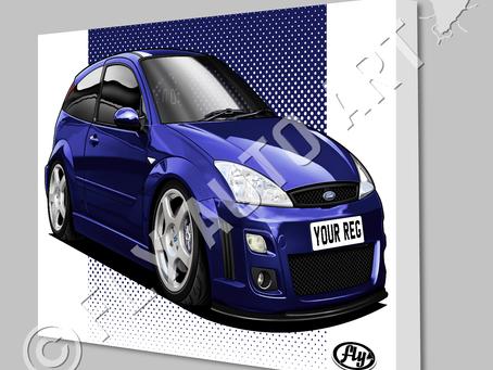 Ford Focus ST Mk1 - New artwork added!!