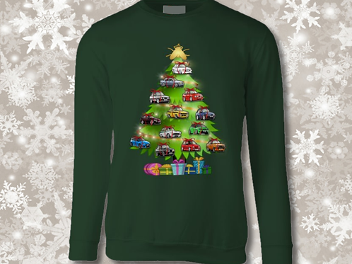 CHRISTMAS SWEATSHIRT - 'IT'S THE FORD THAT COUNTS'! XMAS JUMPER DAY!
