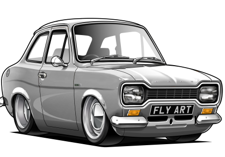 New artwork added!! Ford Escort Mk1 Twin Cam