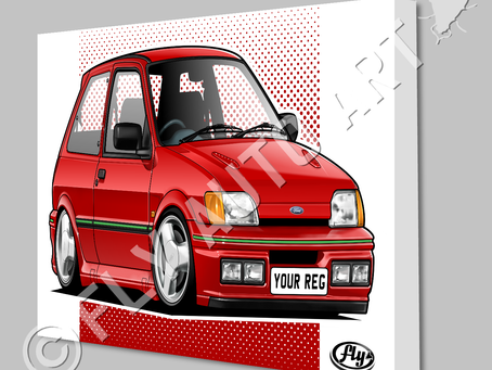 Two cheeky rascals added to shop - Fiesta RS Turbo & XR2i