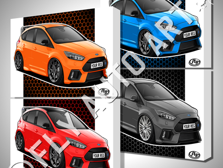 Mk3 Focus RS / Nitrous / Race / Heritage Editions - Spot the difference?