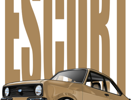New Mk2 Ford Escort design - let me know your thoughts