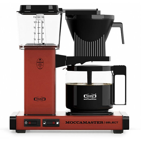 Moccamaster Select Brick Red