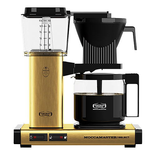 MOCCAMASTER SELECT BRUSHED BRASS