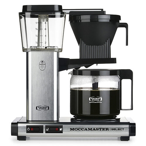 Moccamaster Select Brushed