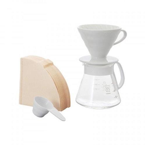 Hario V60 02 Seramik Kahve Demleme Seti