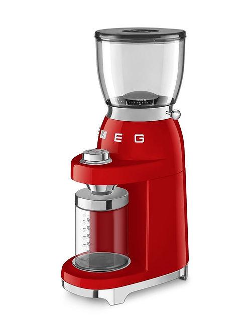 Smeg Kırmızı Kahve Öğütme Makinesi