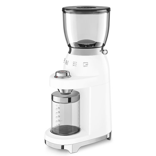 Smeg Beyaz Kahve Öğütme Makinesi