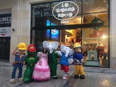 Inauguración de la boutique de Champs Elysees