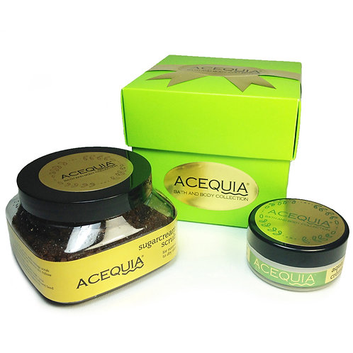 ACEQUIA Gift Duo: Scrub & Soothe