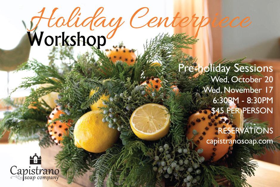 Holiday Tabletop Workshop