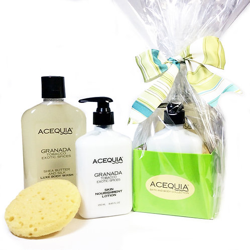 ACEQUIA Gift Set: Cleanse & Nourish