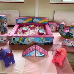 Unicorn Soft Play Hire Glasgow