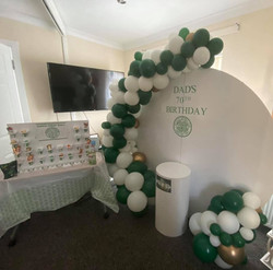 Celtic theme, Rangers FC, candy carts, glasgow hires, sweet carts, birthday ideas, garden party, wed