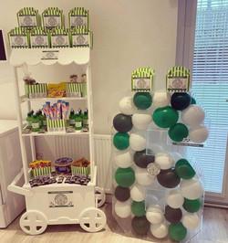 Celtic, Rangers FC, candy carts, glasgow hires, sweet carts, birthday ideas, garden party, wedding i