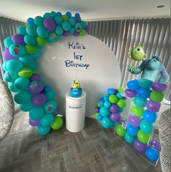 Monsters inc party, Rangers FC, candy carts, glasgow hires, sweet carts, birthday ideas, garden part