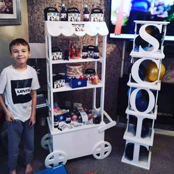 Fortnite, Rangers FC, candy carts, glasgow hires, sweet carts, birthday ideas, garden party, wedding