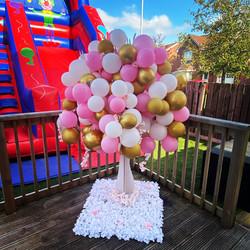 balloon tree, balloon ideas, candy cart glasgow, wedding ideas, ayrshire suppliers