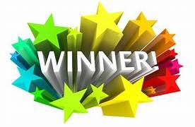Congratulations....The winner is.....