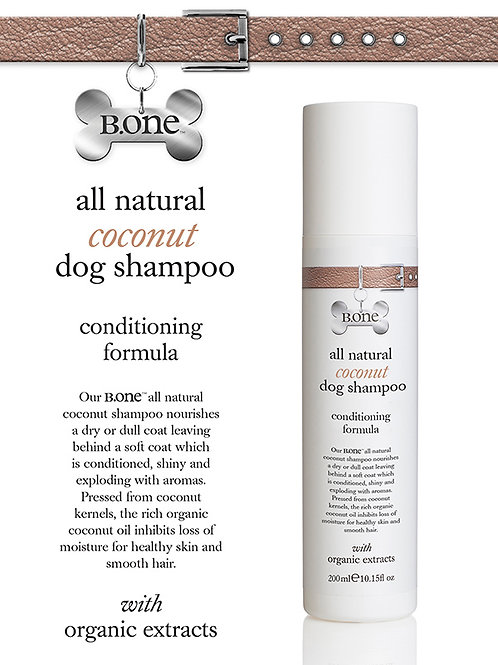 All Natural Coconut Dog Shampoo 200ml