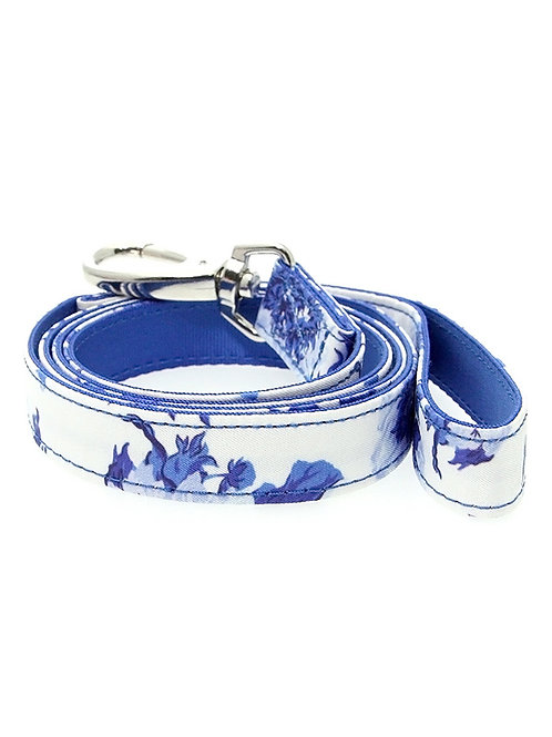 Blue Floral Bouquet Fabric Lead