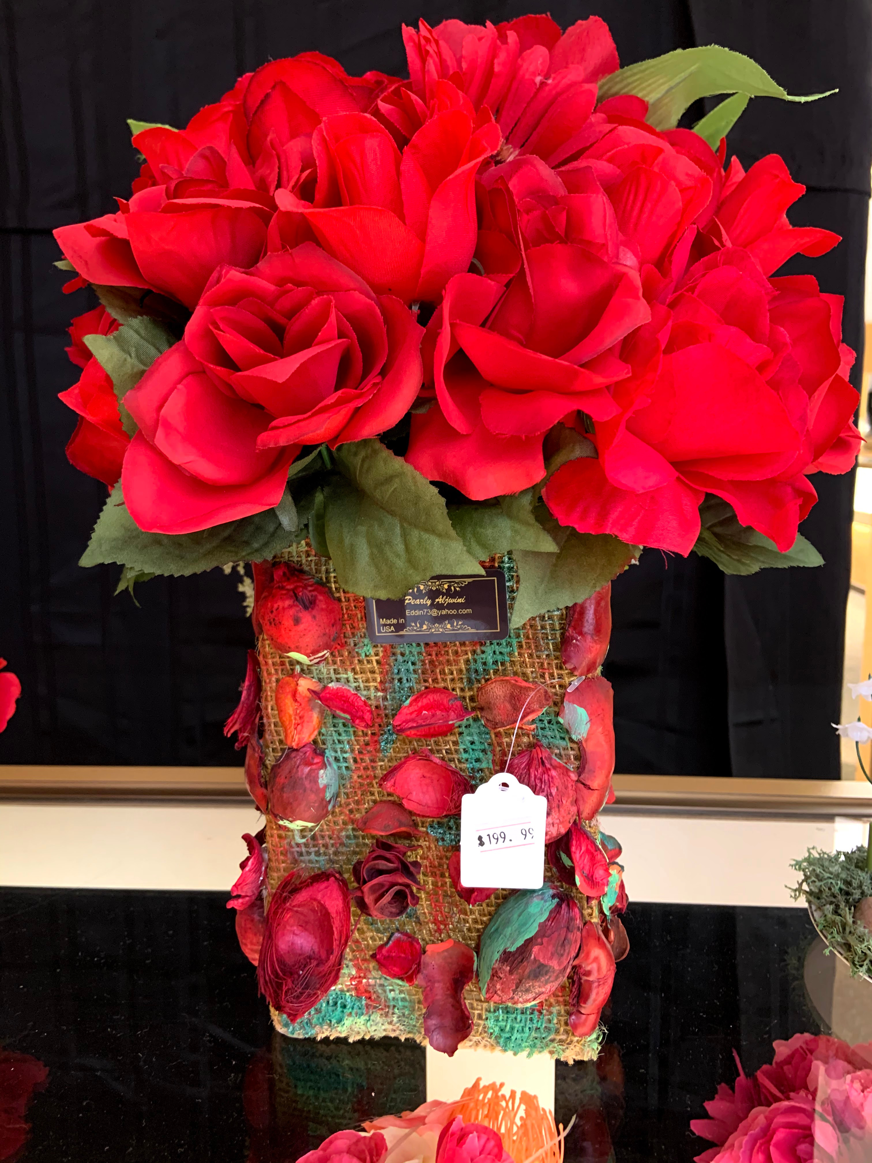 Artificial flower are ready to sell