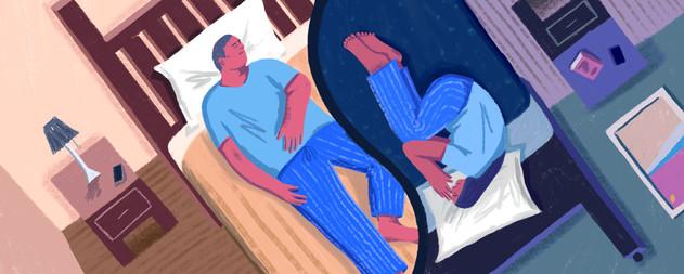 """Wondering How to Sleep Better? Get Separate Beds"""