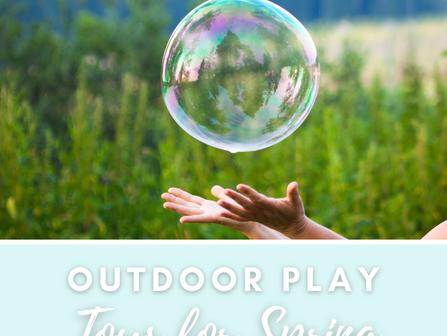 Encouraging Outdoor Play