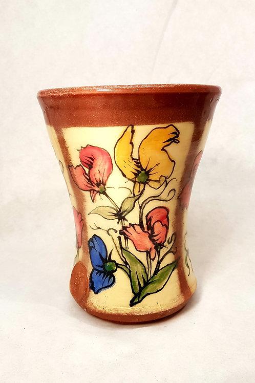 Sweet pea vase