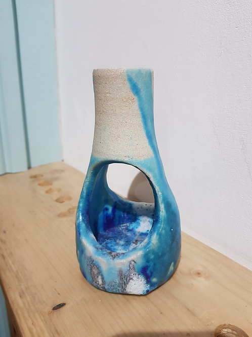 Autobiographical Coast Sculptural Vase