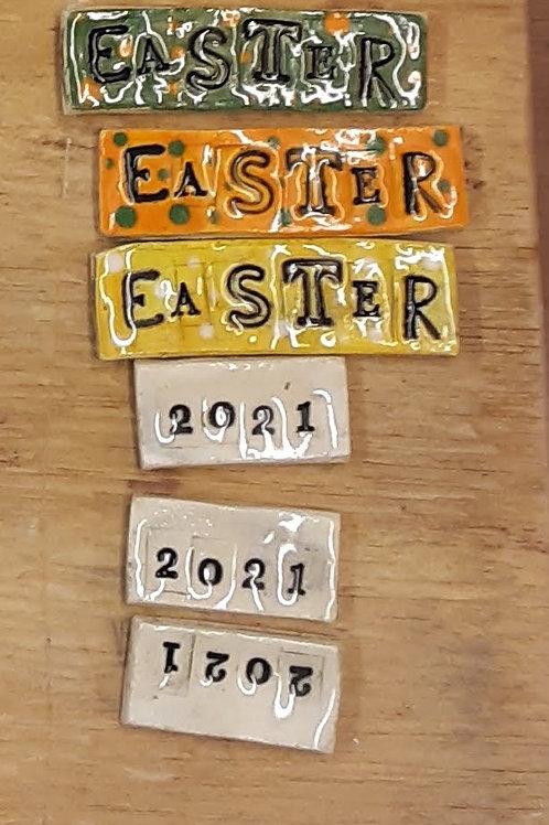 Easter tiles