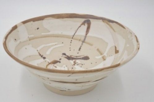 Sand and Sea, Cuerda Seca Fruit Bowl