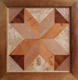 wood parquetry panel