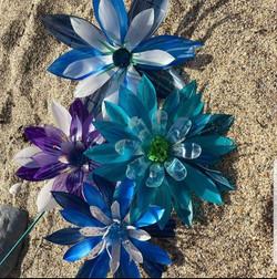 Plastic bottle recycle re-use acrylic
