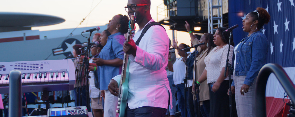 UGA performs at Gospel aboard U.S.S. Midway