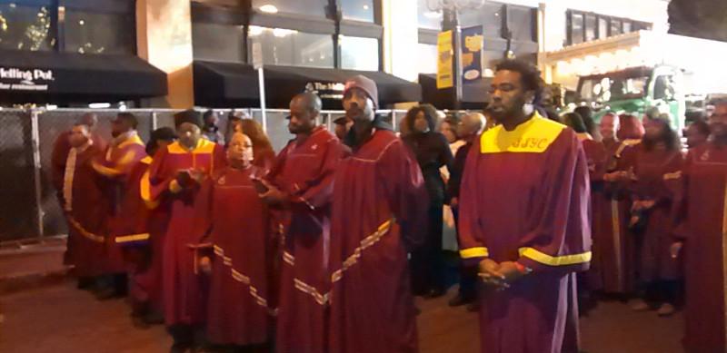 UGA, comprised of local singers; performs at Mardi Gras.