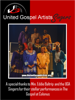 UGA Singers @ Gospel at Colonus