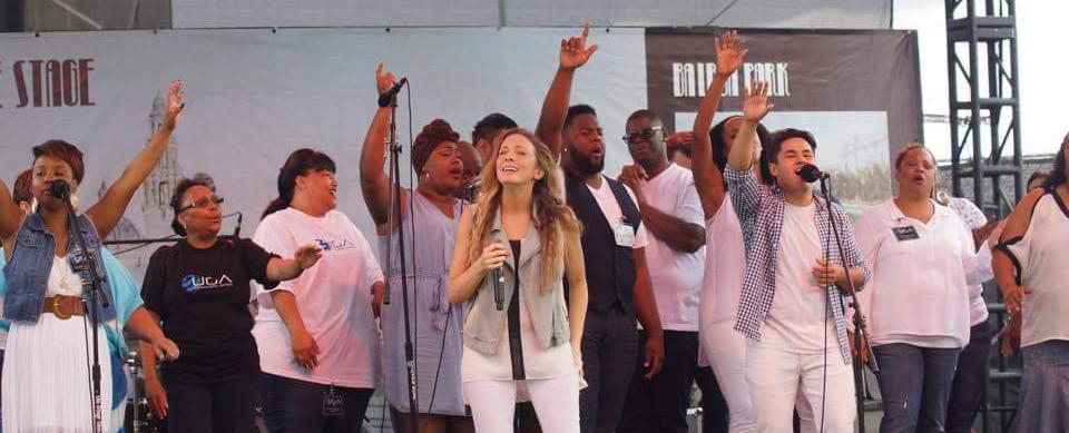 UGA performs at San Diego Fair, Feat. Worship Ldr, Lisa Lopez