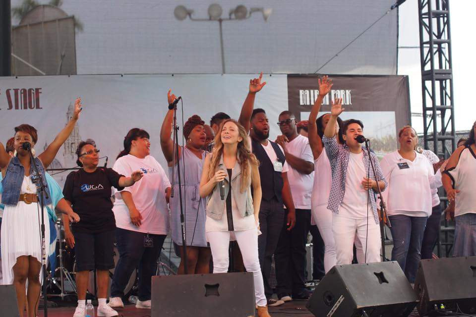 UGA performs at San Diego Fair, Feat. Worship Ldr, Lisa Lopez