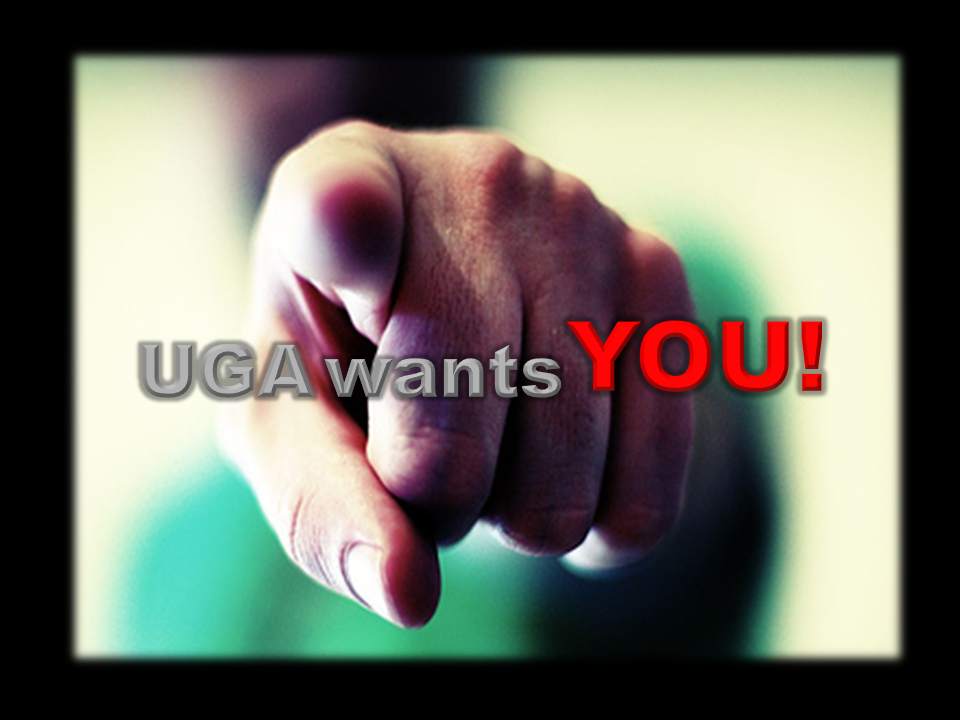 Come be a part of the UGA Family and join a growing coummunity of Gospel Artists.