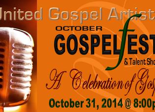 UGA October Gospel Fest and Talent Show